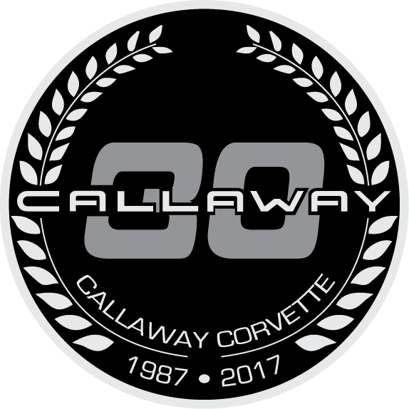 Callaway Corvette 30th Anniversary Wreath 1987-2017