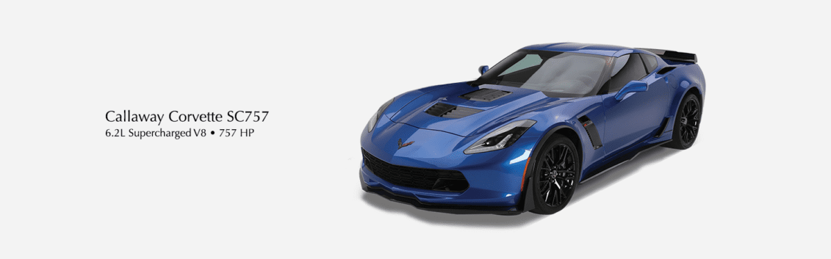 Callaway Corvette SC757