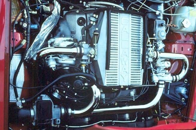 Callaway C3 - Alfa Romeo GTV6 Turbo System