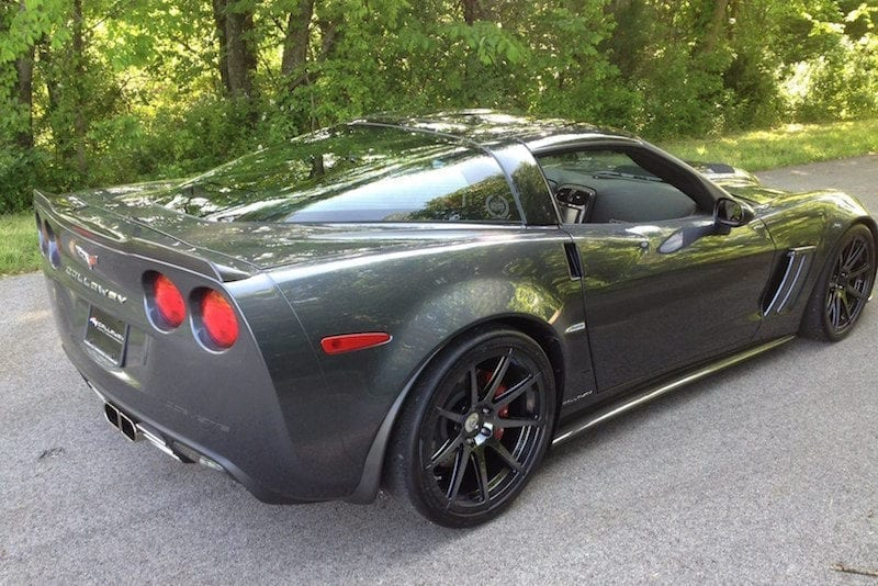 Corvette Spoiler and Rockers