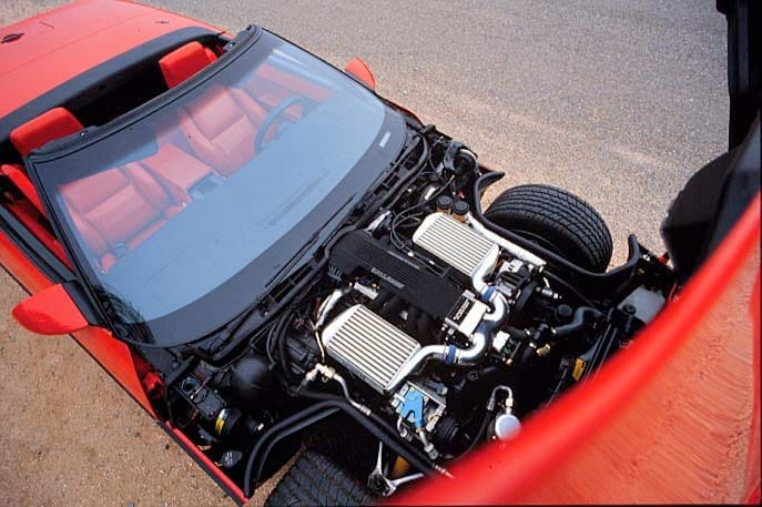 Callaway C4 - Callaway Twin Turbo Corvette