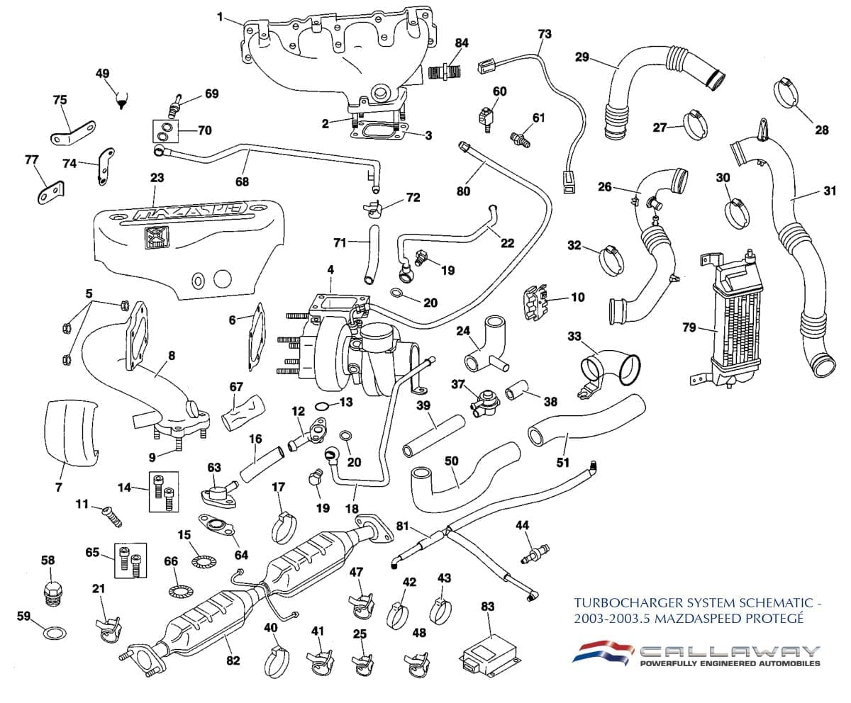 mazda protege engine internals diagram