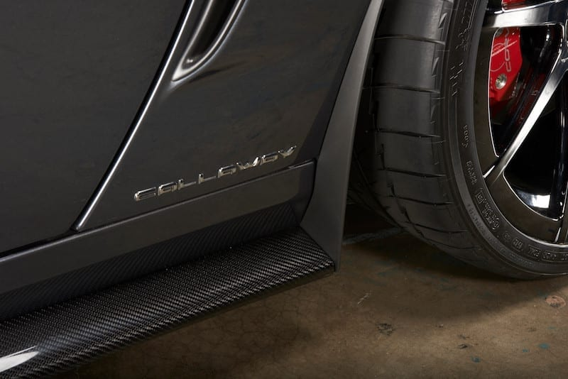 Corvette Rocker Detail - Rear