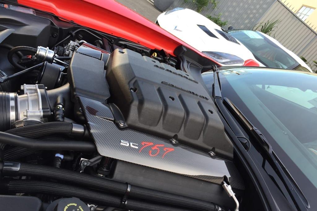 Callaway Corvette GenThree Supercharger