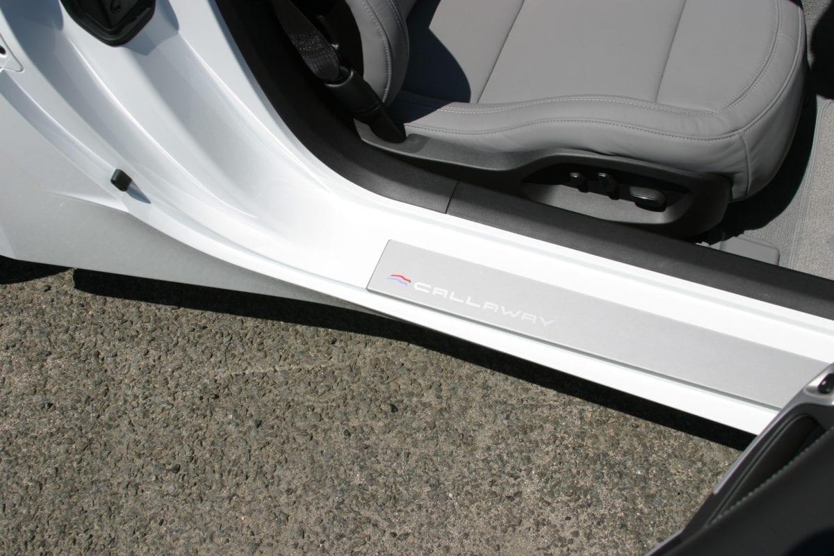 Callaway Corvette Door Sill Panels