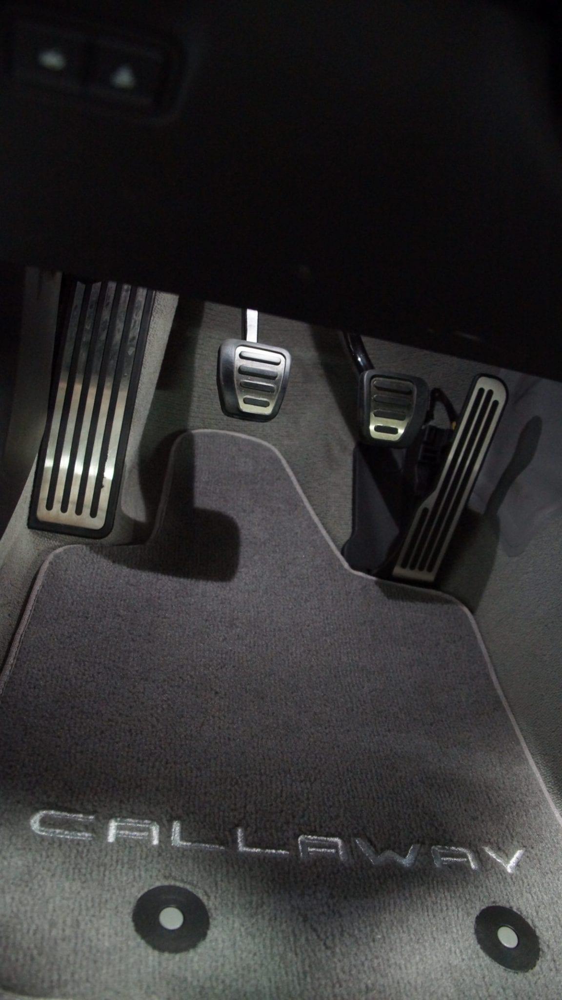 Callaway Corvette Floor Mats
