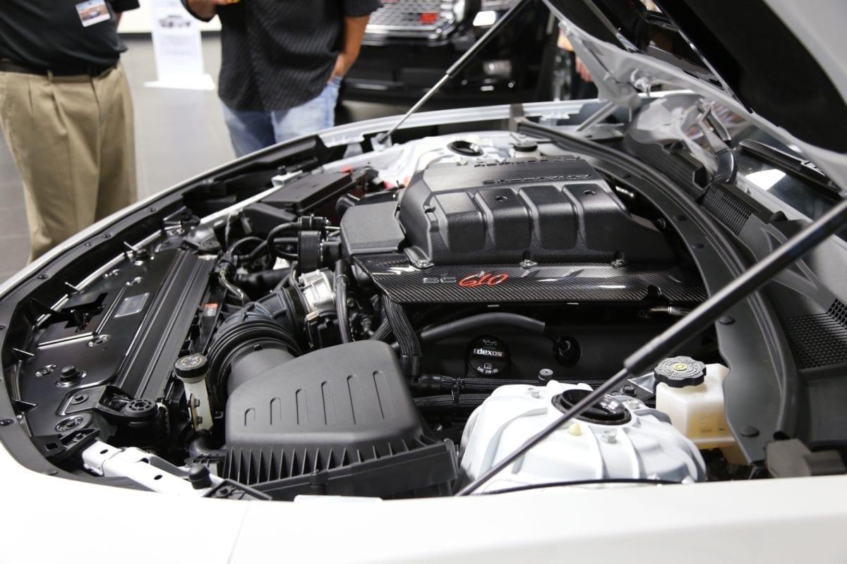 Callaway Camaro Underhood Unveiling