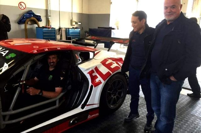 Boris, Giovanni and Ernst with C7 GT3-R
