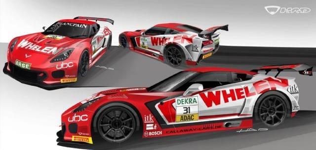 Whelen Callaway Corvette C7 GT3/R Rendering
