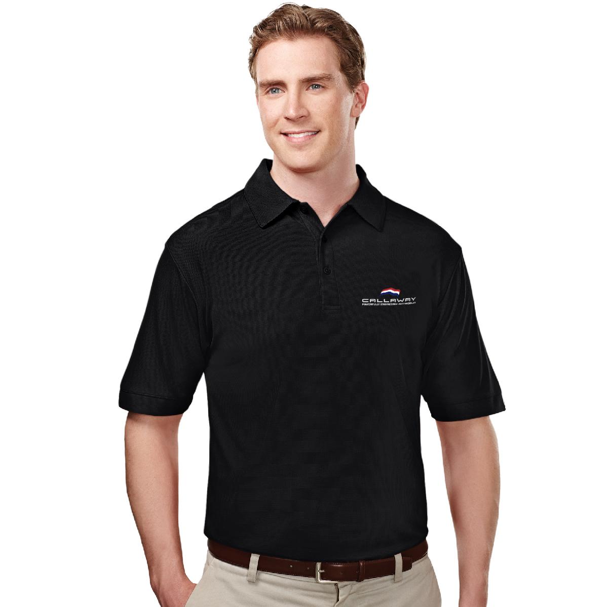 Callaway Cars Polo Shirt, Black