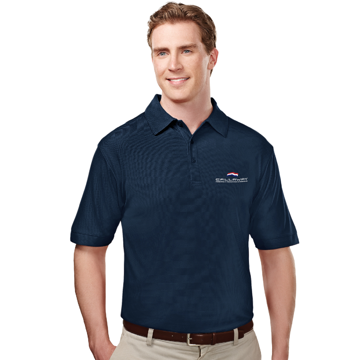 Callaway Cars Polo Shirt, Navy Blue
