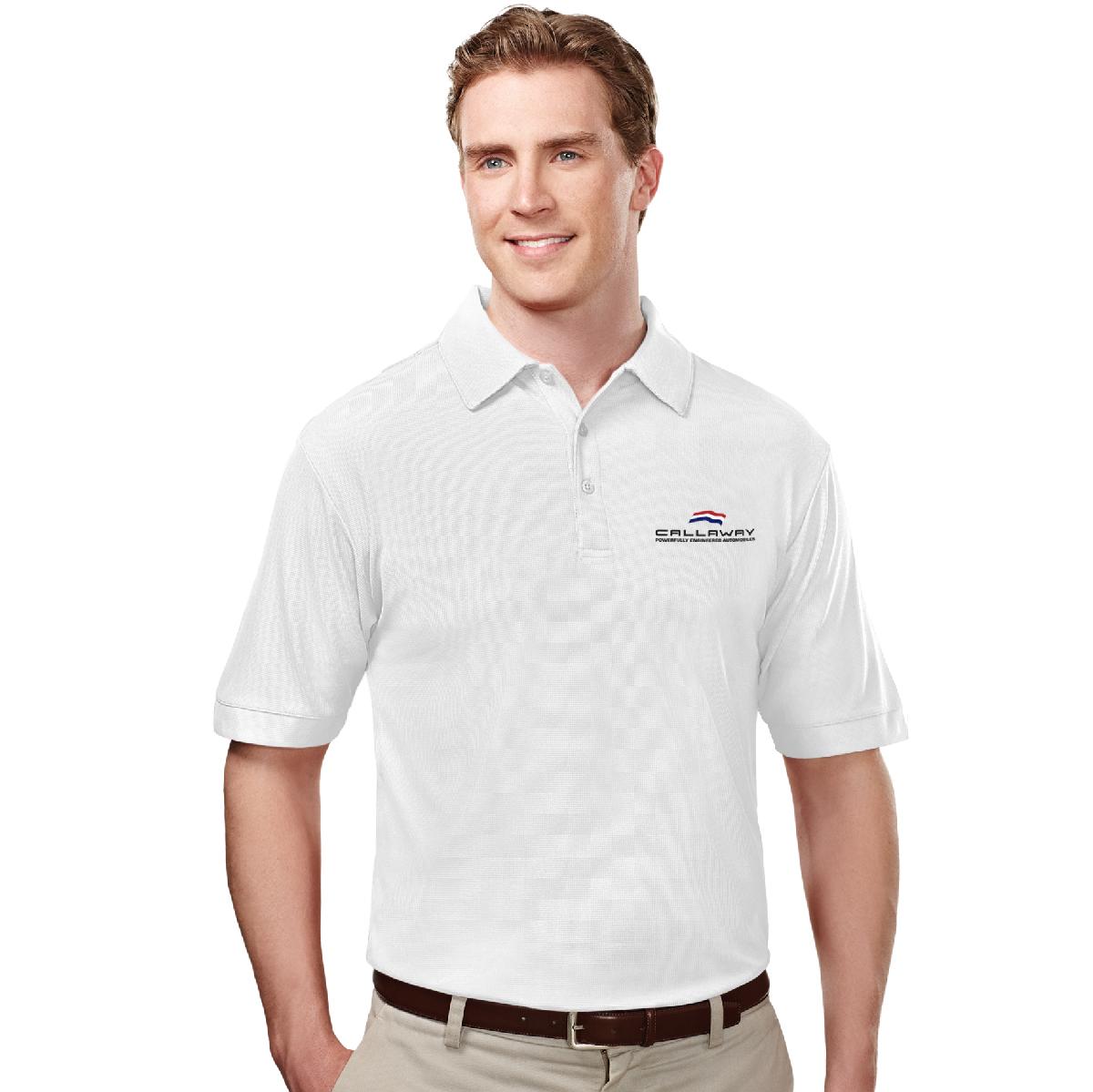 Callaway Cars Polo Shirt, White