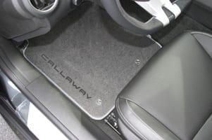 Callaway Camaro floor mats