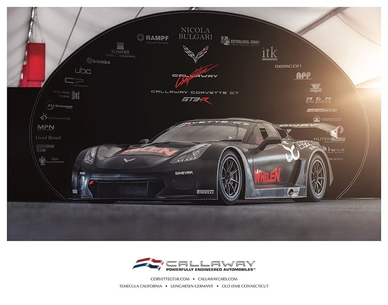 C7 GT3-R Poster