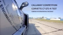 C7 GT3-R at Sebring Testing