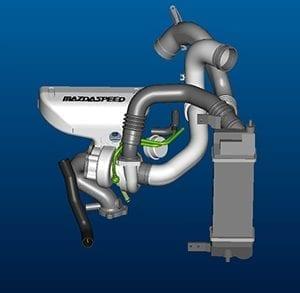 Mazdaspeed Turbo Design