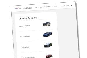 Callaway Press Kits