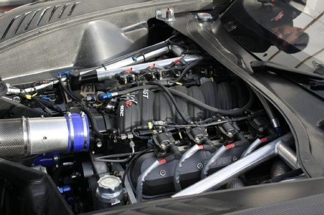 Callaway Corvette C7 GT3-R Engine