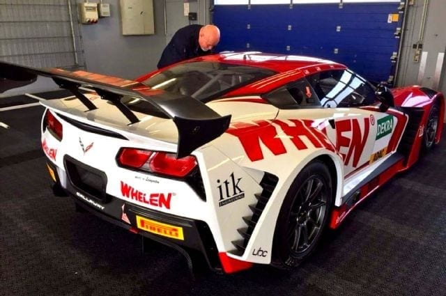 Whelen Corvette C7 GT3-R Test Session