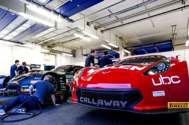 Callaway Corvette C7 GT3-R's - Test Session
