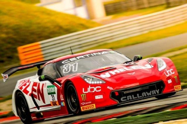 Callaway Corvette C7 GT3-R, Testing