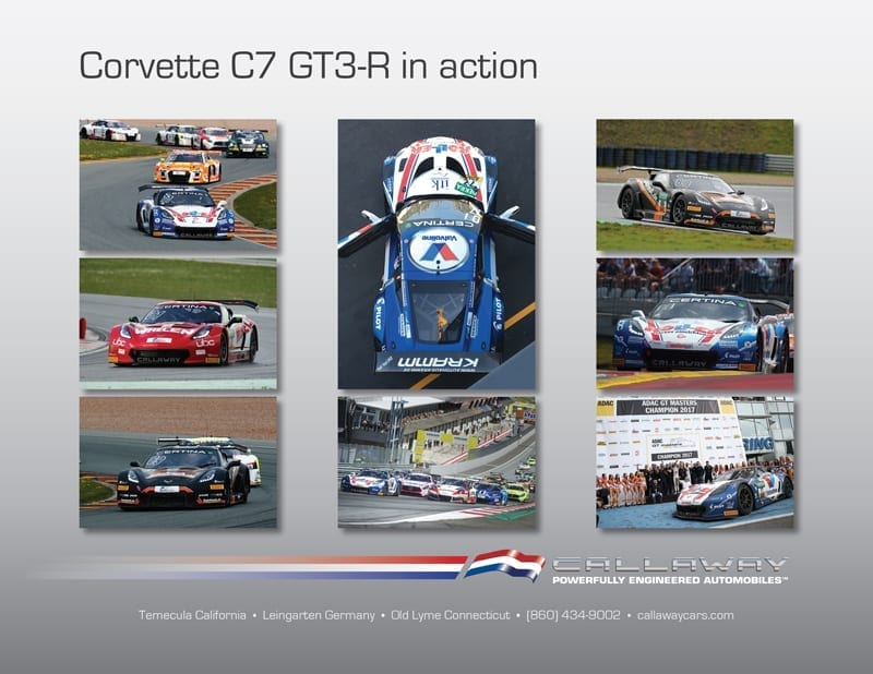 Callaway Corvette C7 GT3-R in action