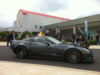 Callaway Corvette RPO B2K at National Corvette Museum
