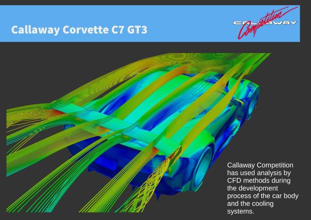 Callaway Corvette C7 GT3-R CFD Analysis