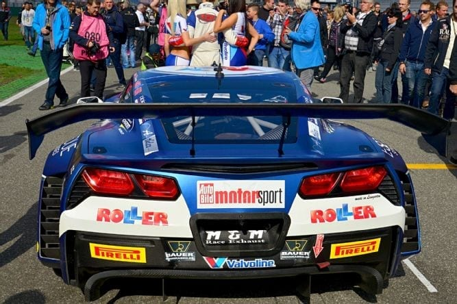 ROLLER/Callaway Corvette C7 GT3-R, Hockenheimring 2016