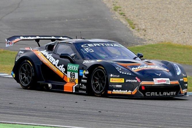 AutoArenA.de/Callaway Corvette C7 GT3-R, Hockenheimring 2016
