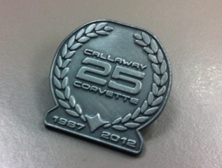 Callaway Corvette RPO B2K Commemorative Pin