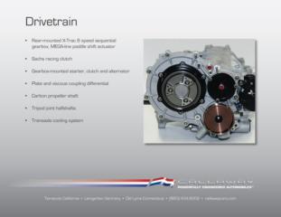Callaway Corvette C7 GT3-R Drivetrain