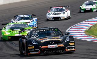 Callaway Corvette leading ADAC GT Masters - Lausitzring