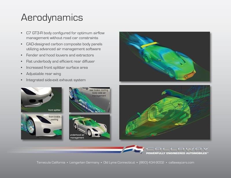 Callaway Corvette C7 GT3-R Aerodynamics