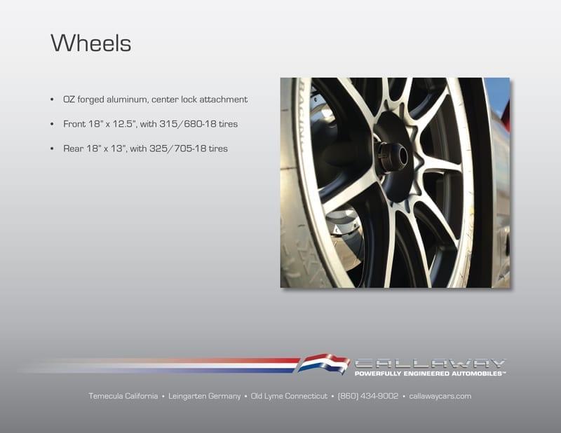 Callaway Corvette C7 GT3-R Wheels
