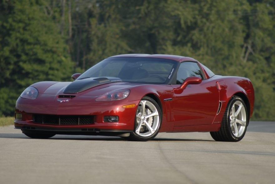 Callaway Corvette SC652 Development Car