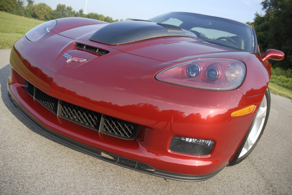 Callaway Corvette SC652 Development Car