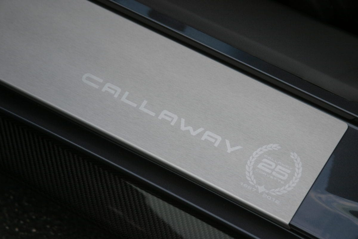 Callaway Corvette RPO B2K Door Sill Panel