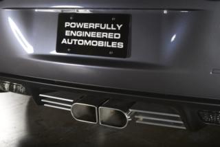 Callaway Corvette Double-D Exhaust with Slat Pkg