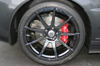 Callaway Corvette RPO B2K Rear Wheel