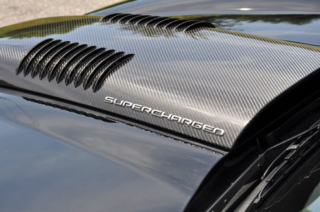 C6 Carbon Hood Bulge