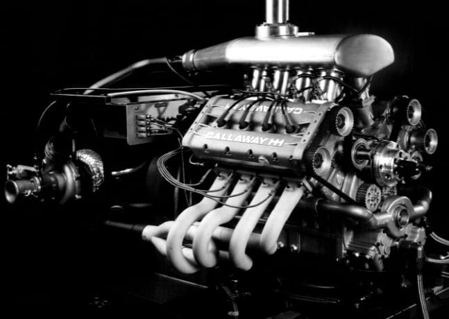 Callaway C2 - HH Indy Car Engine Development