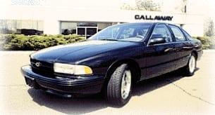 Callaway C9 - Callaway SuperNatural Impala SS