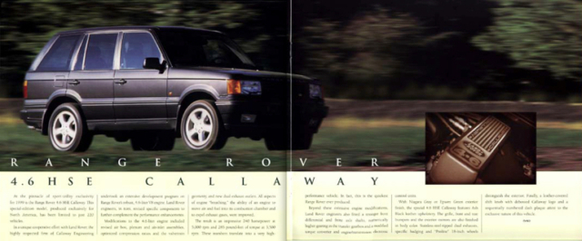 Callaway C11 - Range Rover 4.6 HSE Callaway Edition