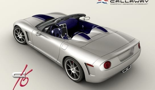 Callaway C16 - Corvette C6-based Supercar