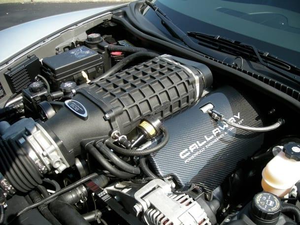 Callaway Corvette SC606 Underhood