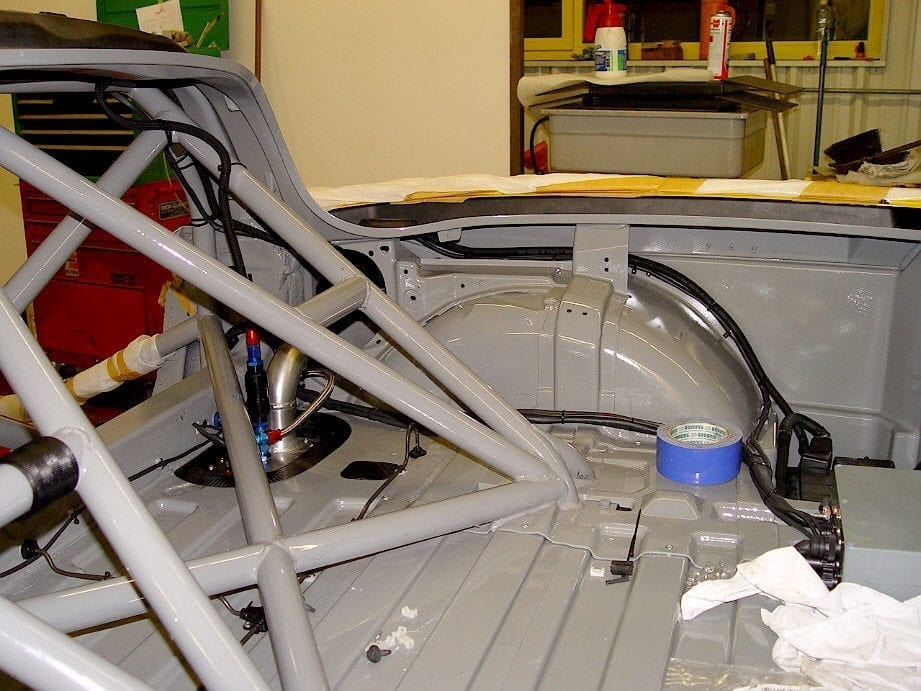 Callaway Competition C6 Construction - Photo: Walt Thurn