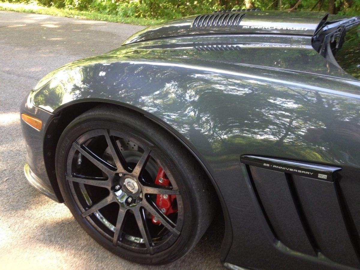 2012 Callaway Corvette RPO B2K - Number 00 Pilot Car