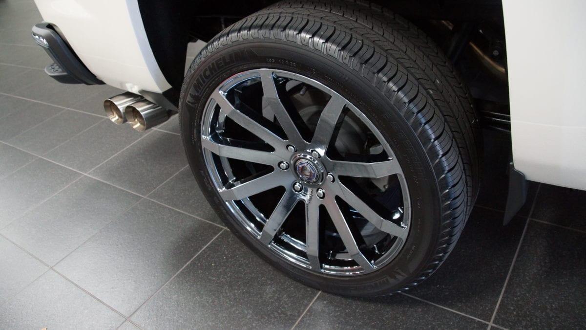 Callaway Sierra Optional Ten Spoke Wheels
