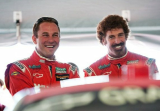 Eric Curran & Boris Said at C7 GT3-R Testing